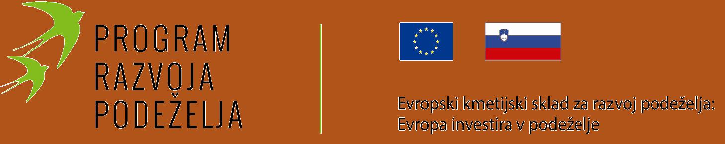 PRP Program razvoja podeželja EU logotip