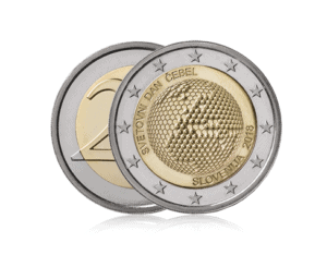Svetovni dan čebel evro kovanec - World bee day Euro coin