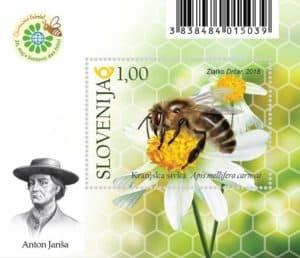 Svetovni dan čebel znamka - World Bee Day Stamp